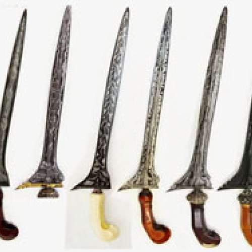 THE JAVANESE TRADITIONAL WEAPONS